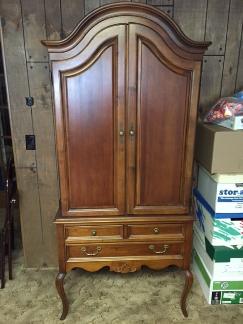 Lexington Chez Michelle Cherry Armoire Looking To Sell 34