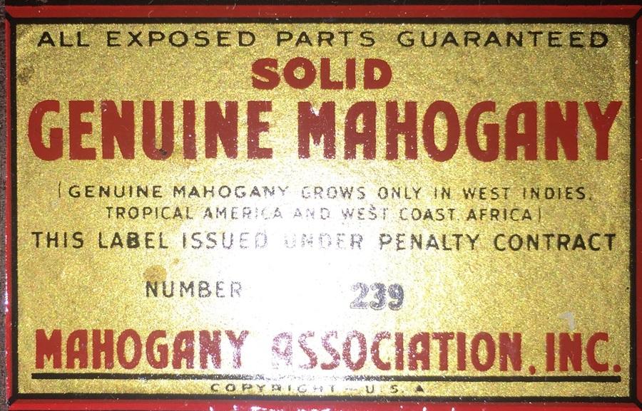 Value Mahogany Kling Furniture My Antique Furniture