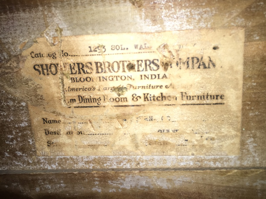 Vintage Shower Brothers Waterfall Vanity Information My