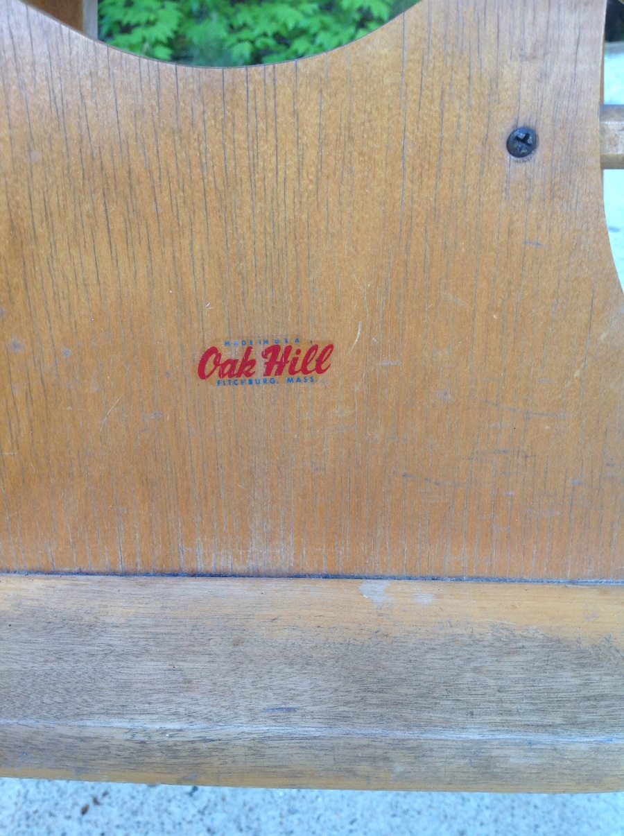 Oak Hill High Chair My Antique Furniture Collection