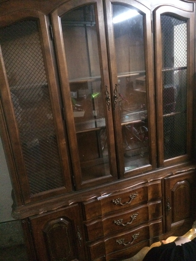 Good I Have A Broyhill China Cabinet With The Marking Of 7980 66 On The Back.  What Year Was This Made And How Much Is It Worth? My Mother Had It When We  Were ...