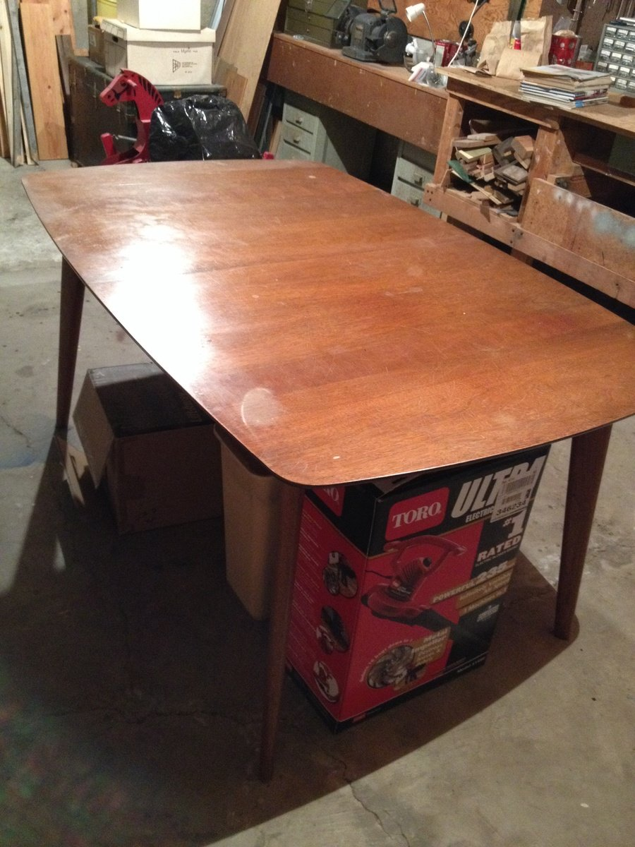 How Much Is My Heritage Henredon 1950s Danish Modern Dining Room Table Wit