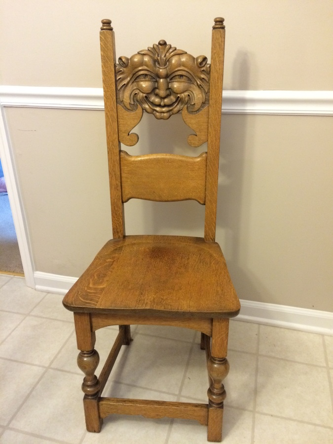 Quot Scary Chair Quot My Antique Furniture Collection