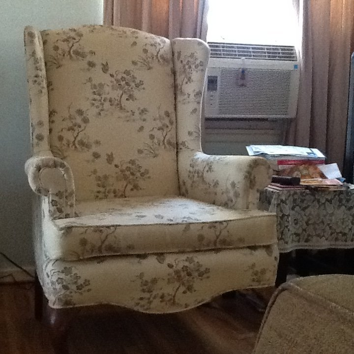 I Have Two Wing Back Chairs From Continental Chair Company