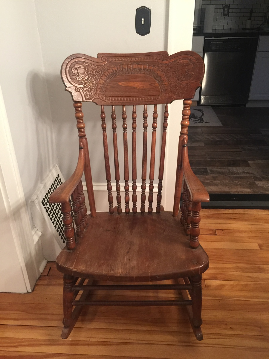 Thoughts On This Rocking Chair My Antique Furniture
