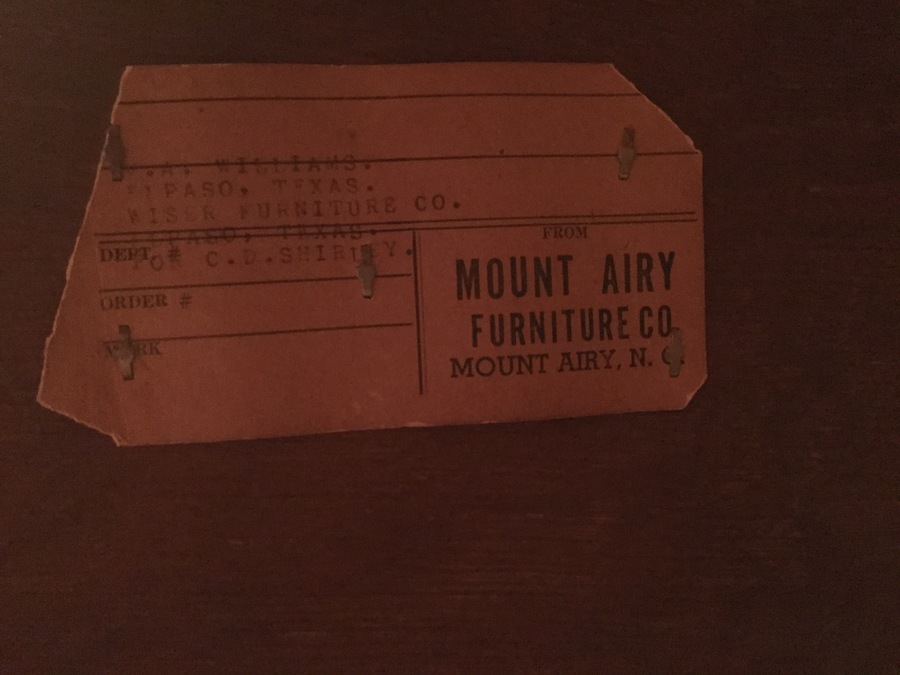 Can Anyone Help Me Find The Value For Mt Airy Furniture