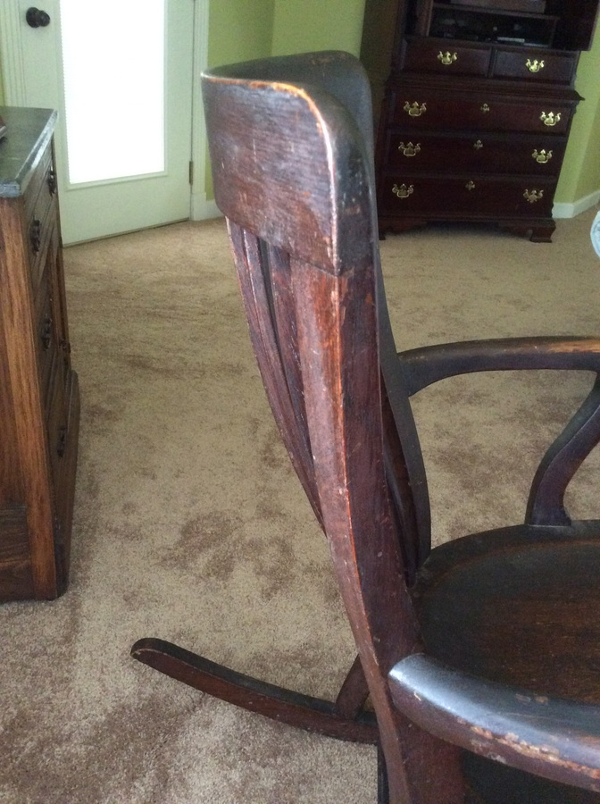 Way Brothers Ford >> J S Johnson Furniture Company Rocking Chair | My Antique ...