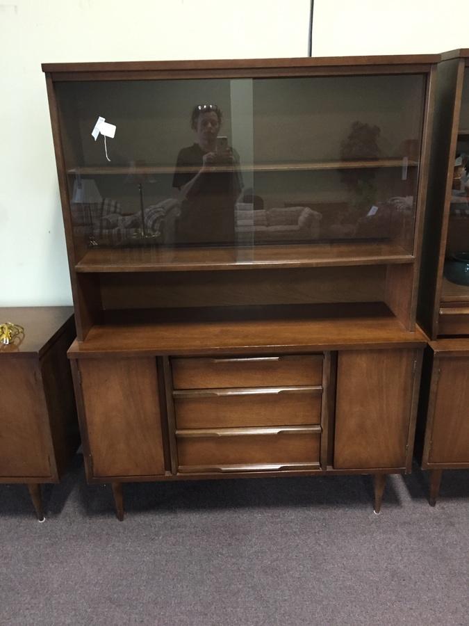 Just Picked Up This Mcm China Hutch Inside Drawer Has