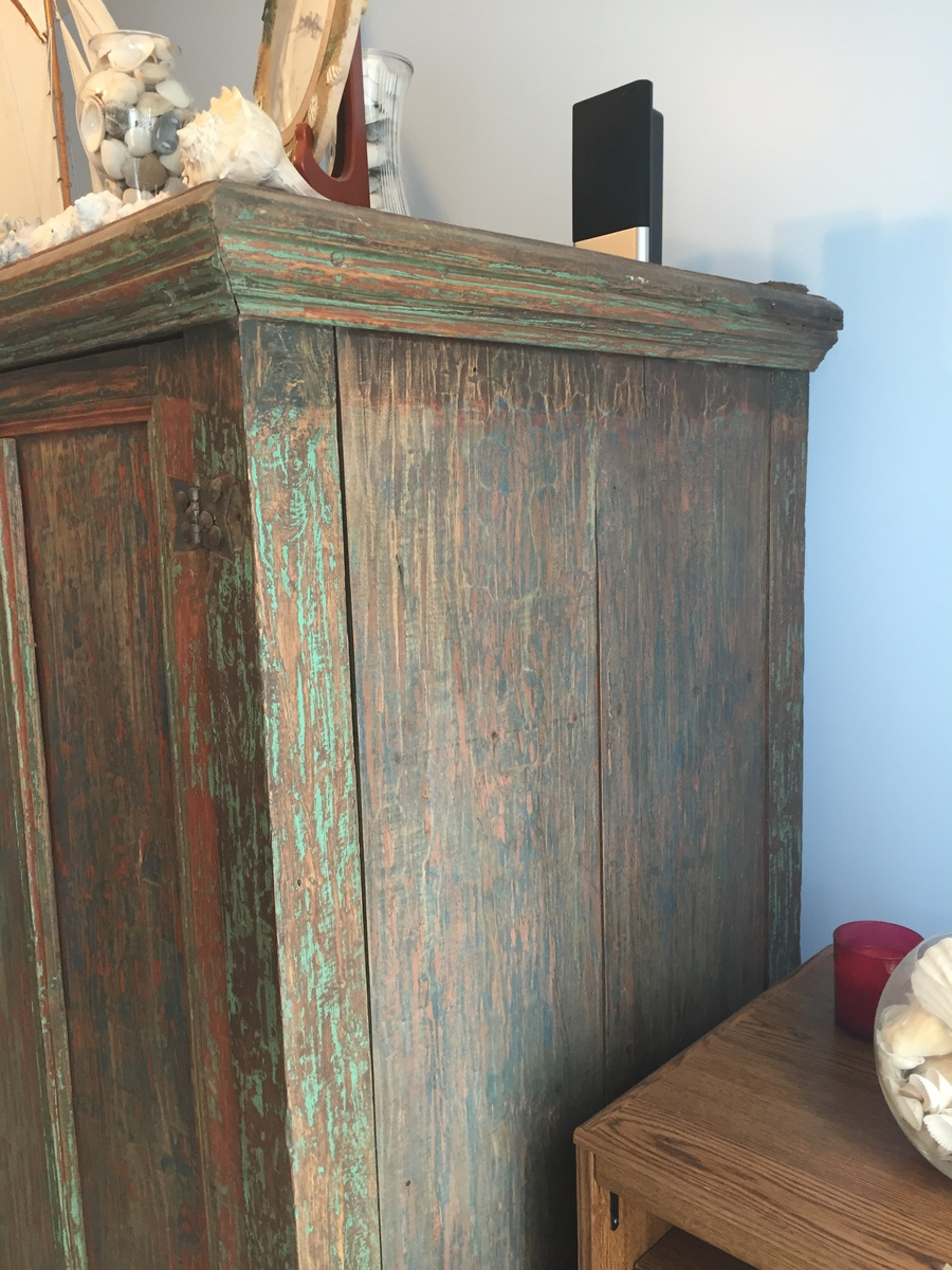 Antique Armoire With Wooden Pegs My Antique Furniture