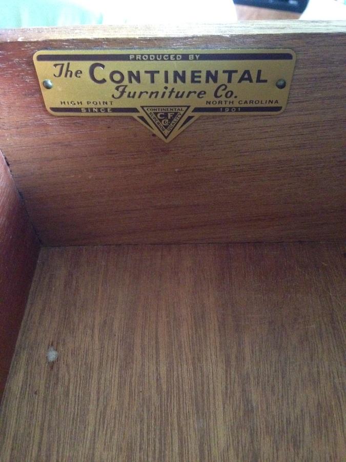 Continental Furniture Co Dresser My Antique Furniture