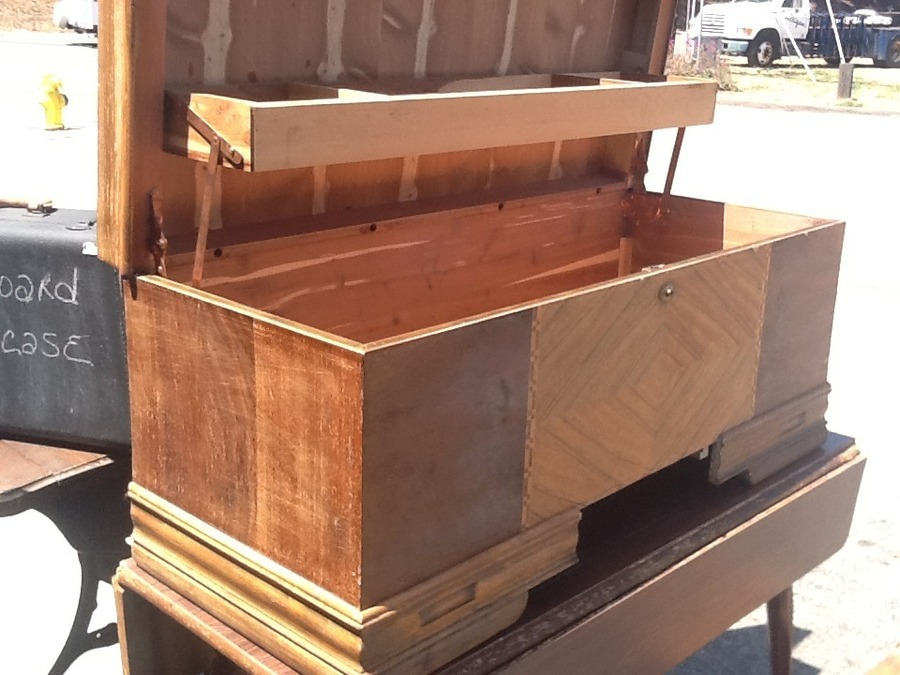 Cedar Chest With Tray My Antique Furniture Collection