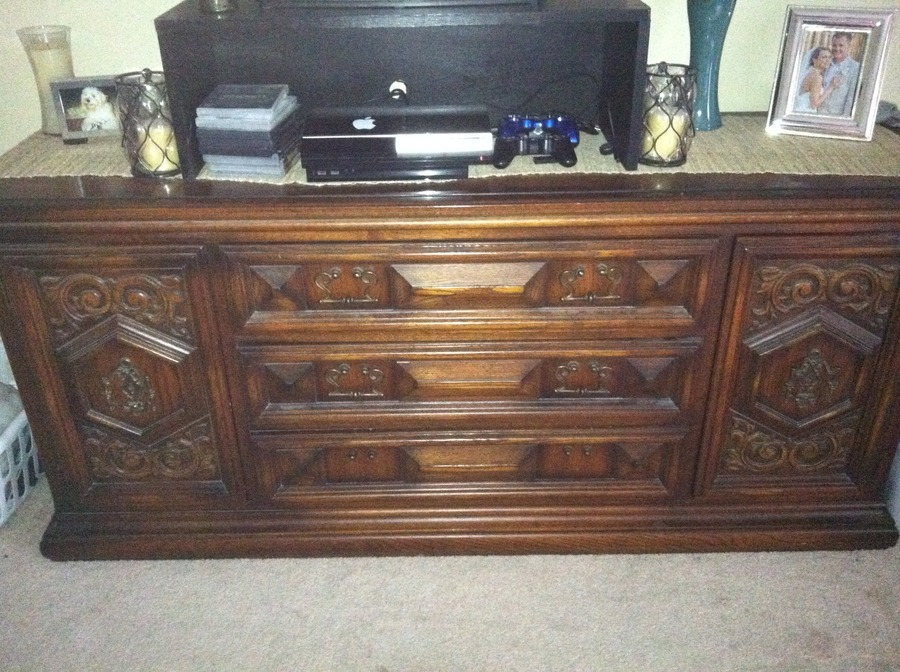 I Have A United Furniture Collection Armoire And Dresser With With Two Yu0027al.