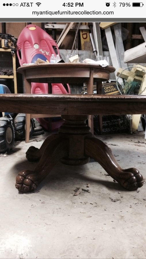Any Value To My Fruitwood Lion Claw Coffee Table My
