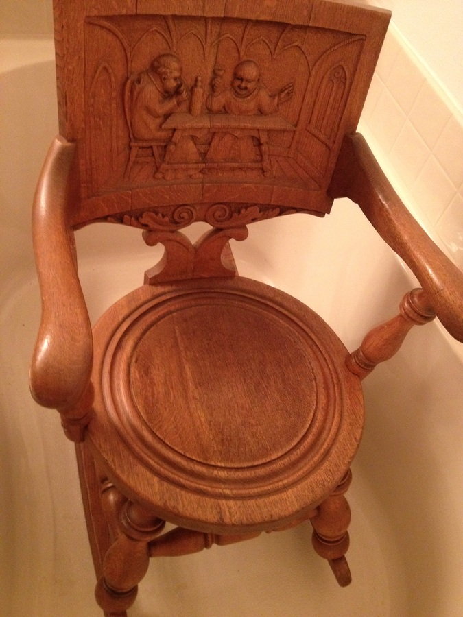 Antique Carved Rocking Chair My Antique Furniture Collection