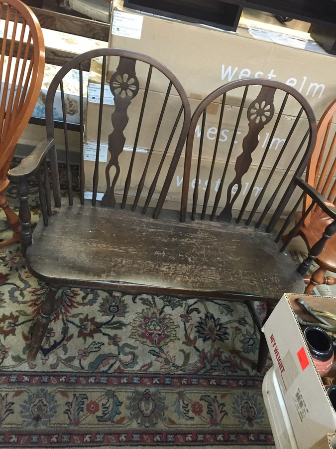 Hale Bench My Antique Furniture Collection