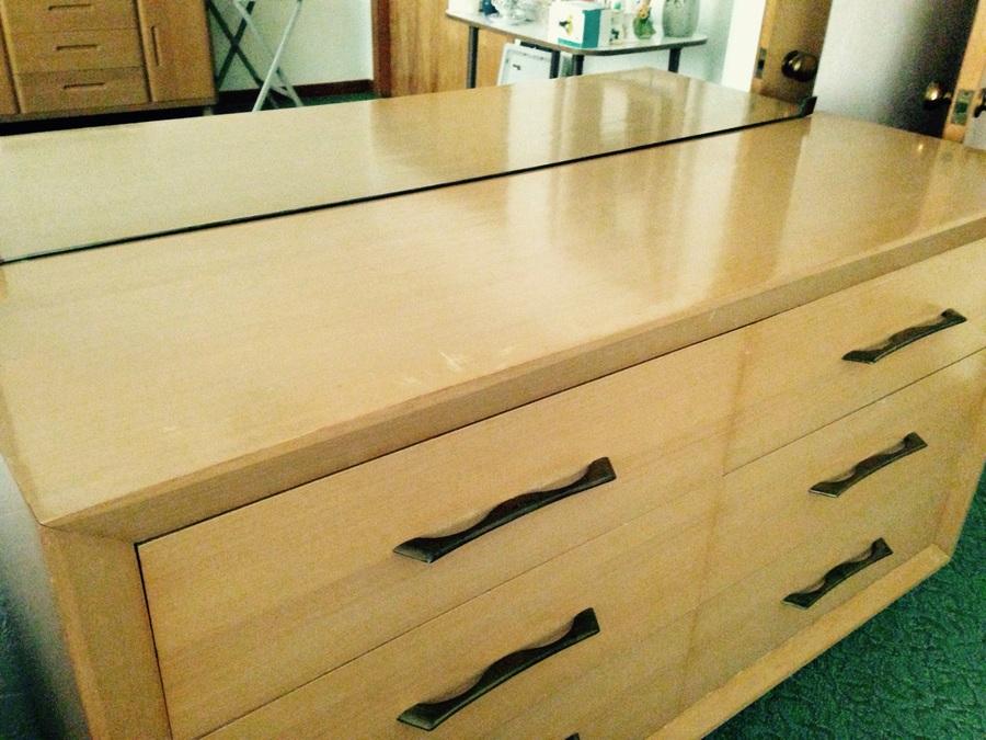 Blonde Dresser W Nightstand My Antique Furniture Collection