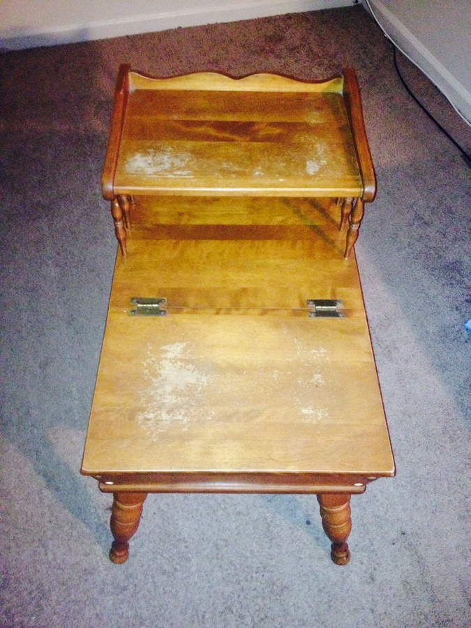Baumritter End Table 1554 My Antique Furniture Collection
