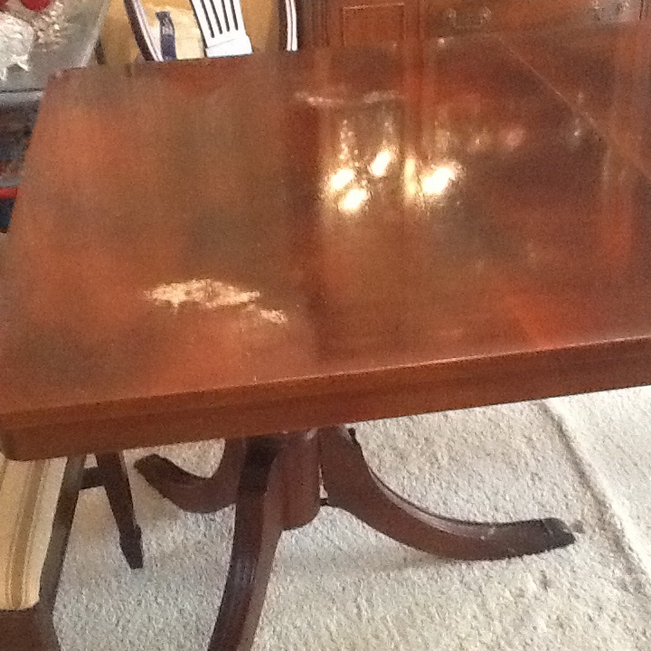 Perfect This Is A 1960u0027s Cherry Wood Set Table, China, And Buffet. How Much Is  This... Guest 3 Years Ago