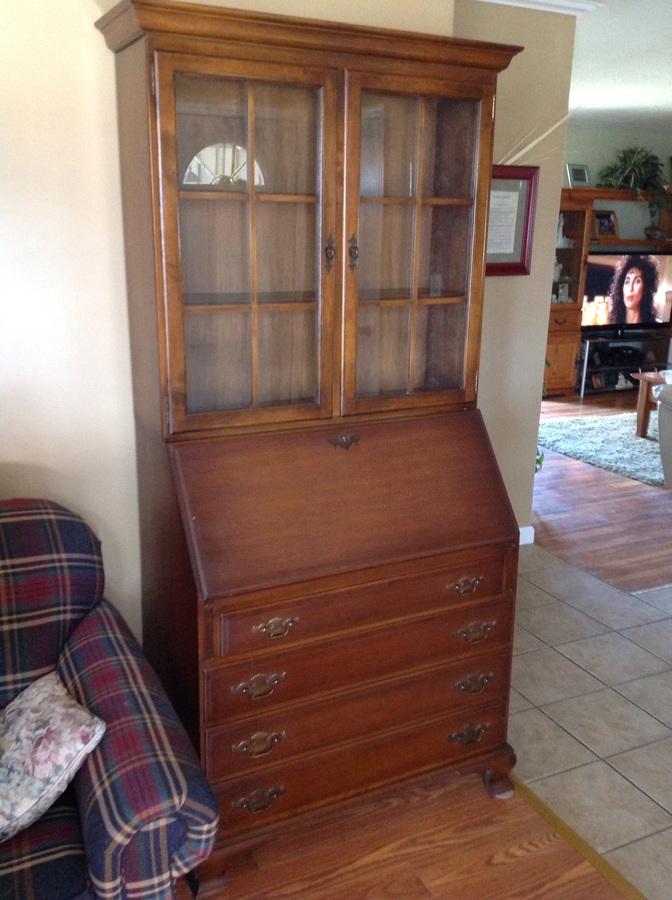 Klingon Colonial Secretive Desk My Antique Furniture