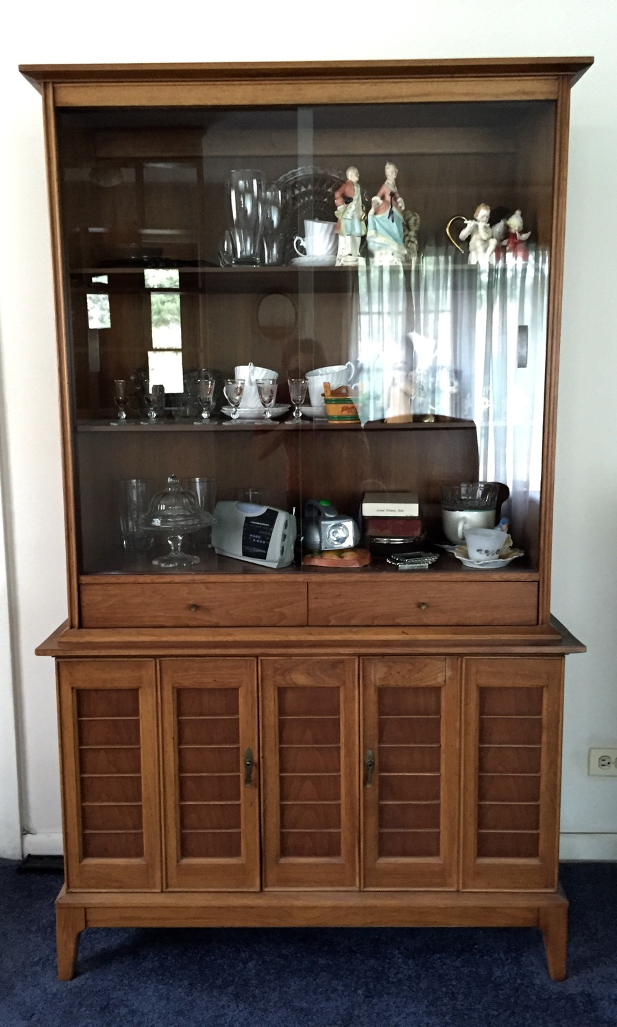 I Have Come To Own A John M Smyth China Cabinet Hutch