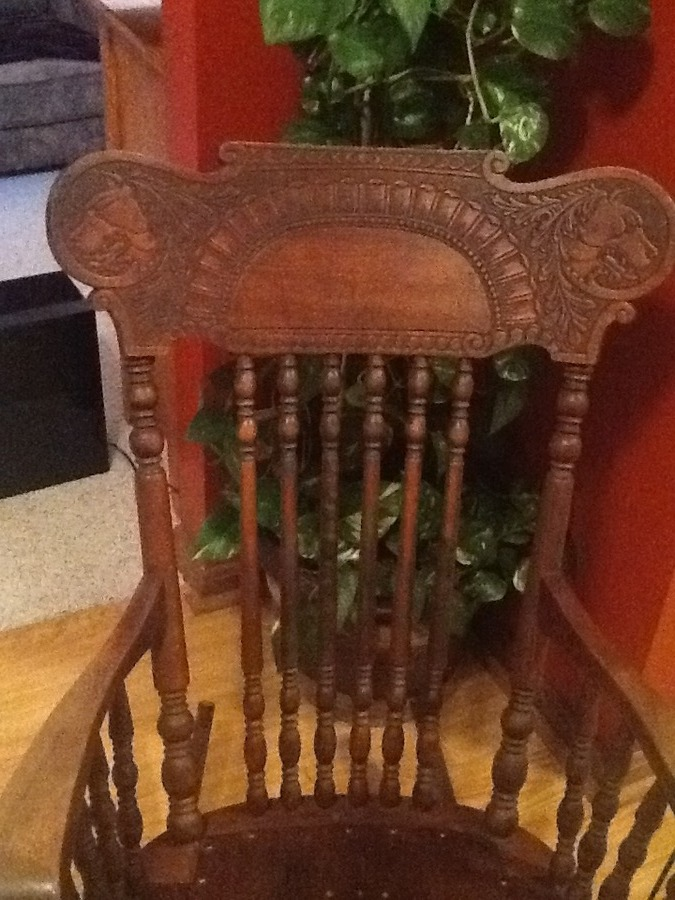 I Have A Rocking Chair With A Pentagram On The Seat And Two Snarling Dogs  Carved In The Headrest. I Believe The Chair Belonged To My Grandfatheru0027s  Mother.