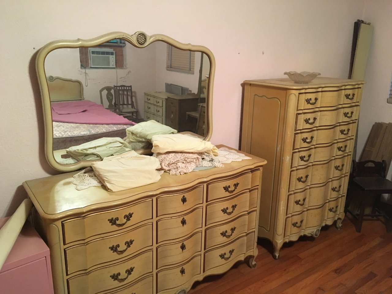 I Have A French Provincial Bedroom Set Made By The Continental Furniture Co My Antique