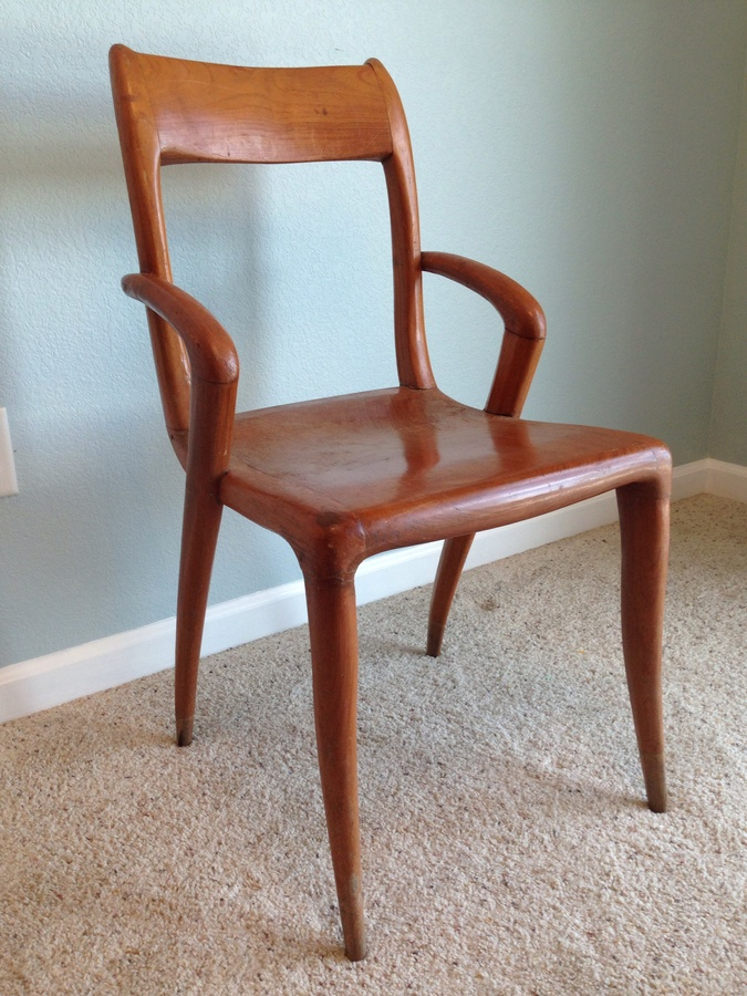 Danish Mid Century Modern Teak Chairs My Antique
