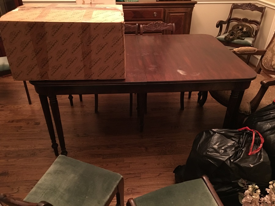 What Is My Flint And Horner Double Hidden Leaf Table Worth