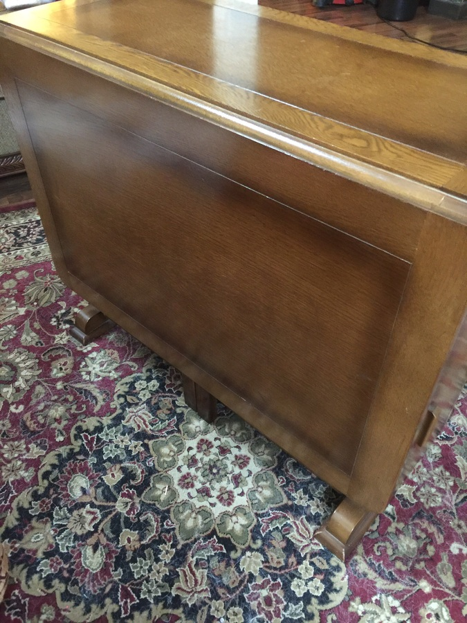 Age And Value Of Jentique Drop Leaf Table My Antique