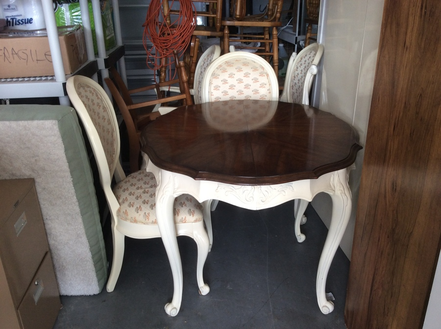 Table Left Behind Is White Furniture Company My Antique