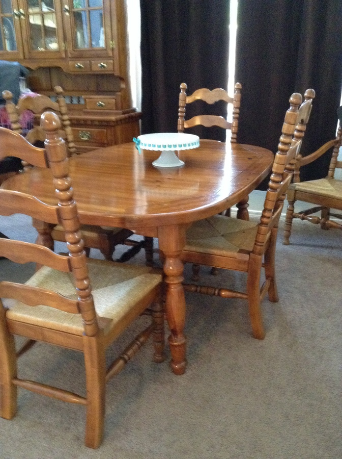 Link Taylor Colonial Pine Dining Table My Antique