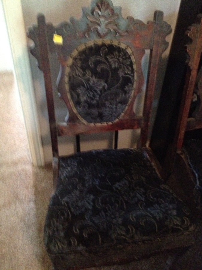 Have Two Chair With Caster On Front Leg Only Want To Know If They Old Chair  Guest 5 Years Ago