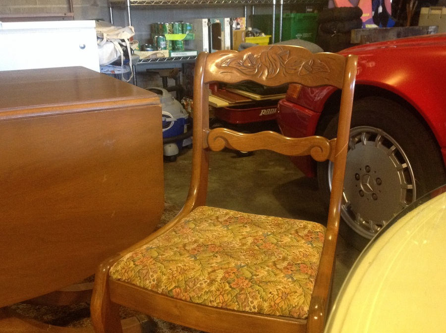 Tell City Chairs With Acorns On Back My Antique