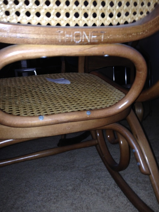 How Can Tell If You Thonet Rocking Chair Is An Original