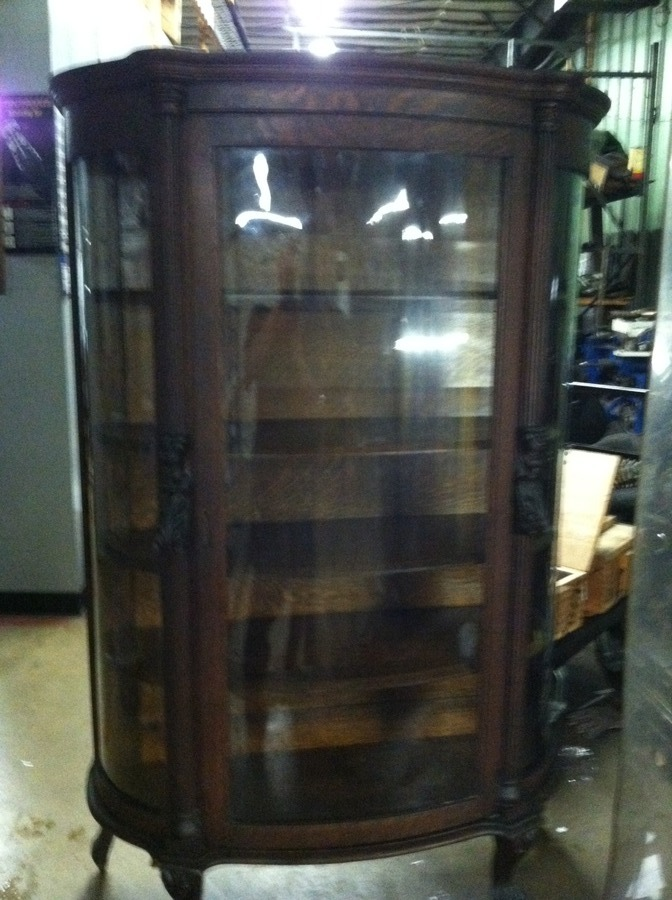 Help In Price On This Ebert S Bow Front China Cabinet My