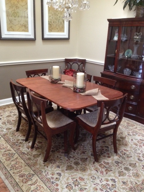 I Have A New Hampton Court Dining Table By Drexel Any Tips On Value Would