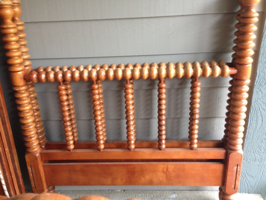 I Have 2 Wood Spiral Twin Bed Frames Not Sure Of The