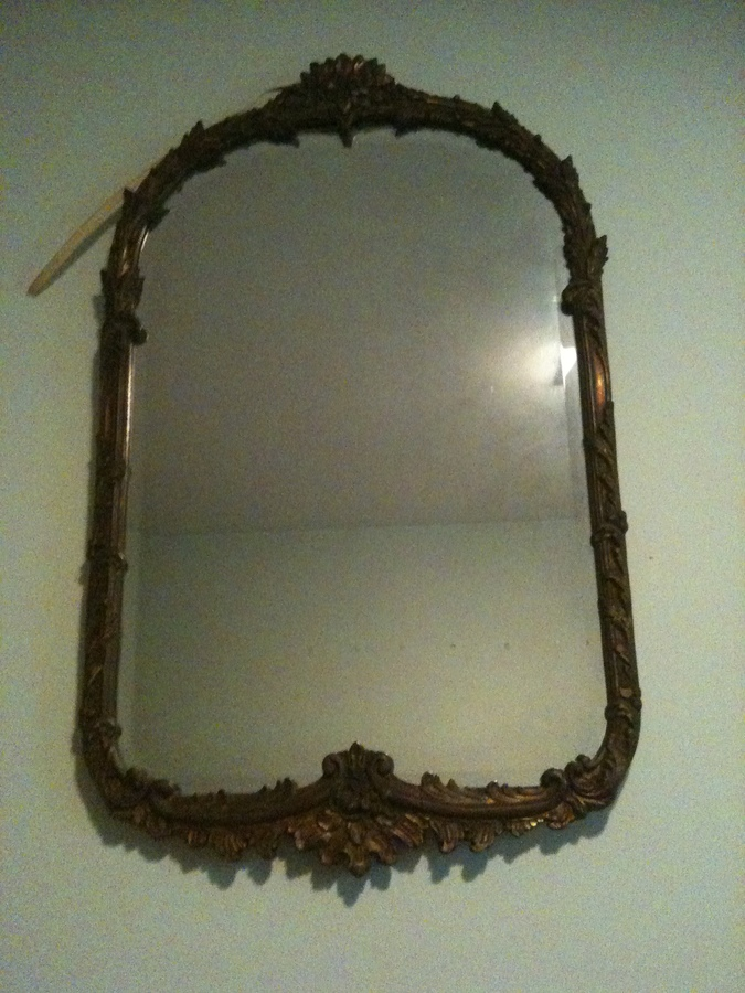 Frederick Loeser Goldleafed Ornate Mirror Approx Age And