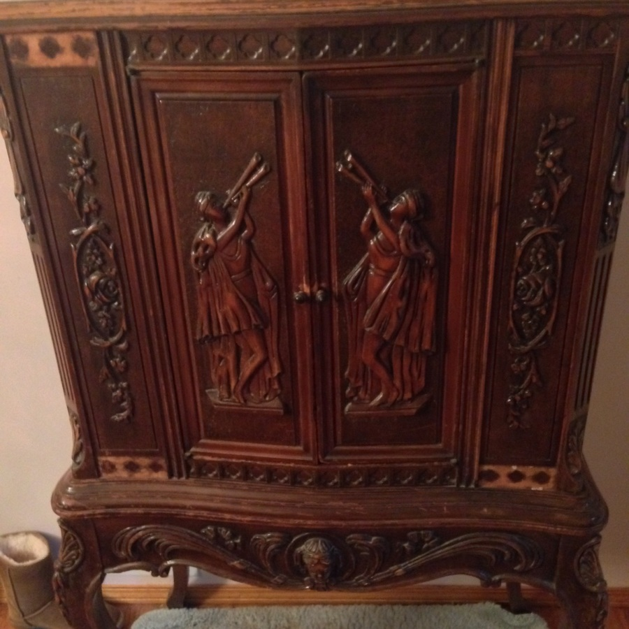 Antique Cabinet Ornate My Antique Furniture Collection
