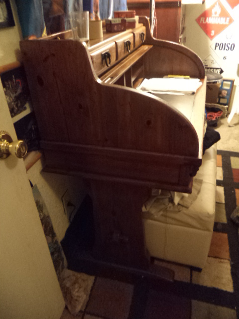 I Have A Link Taylor Rawhide Tall Dresser, Nightstand And Rolltop Desk And  Was Wondering Their Value. They Are In Excellent Condition With Leather  Insets.
