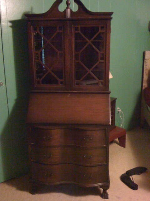 How Much Is A 1940s Secretary Bookcase Worth