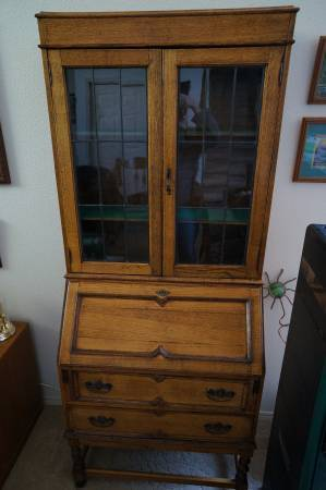 How Much Is This Secretary Desk Worth My Antique