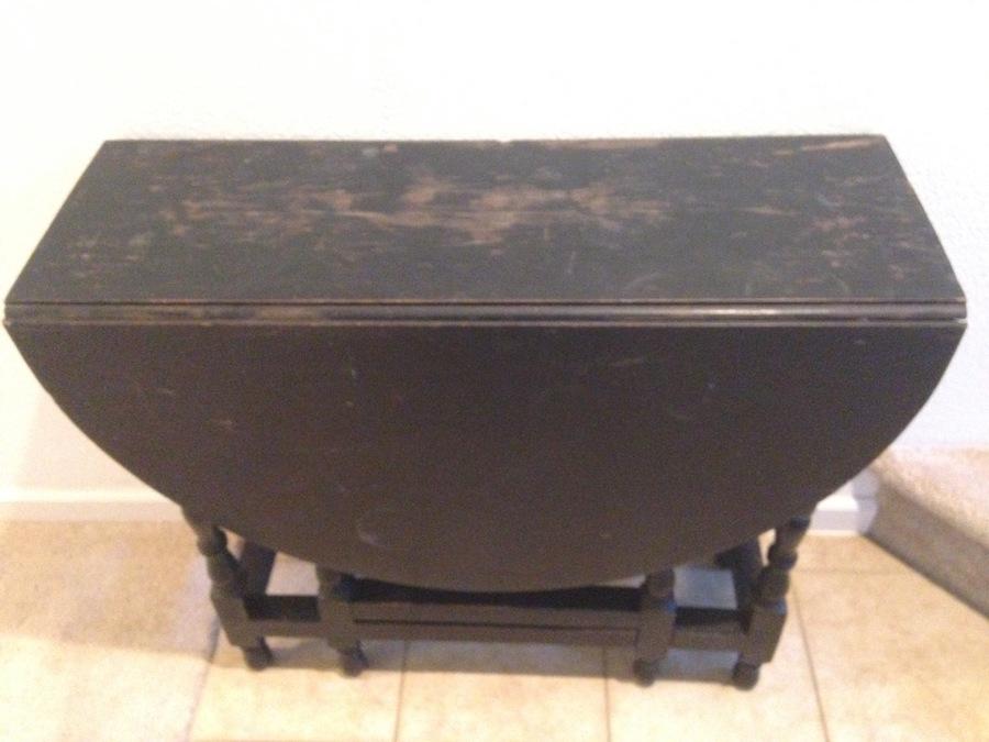 Gate Leg Drop Leaf Table Advice My Antique Furniture
