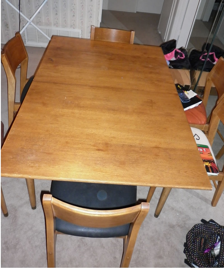 Drexel Circa 1950's Dining Table Set