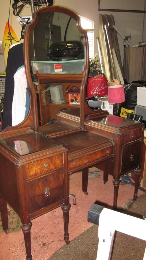 1903 Marvel Furniture Vanity Jamestown Ny My Antique Furniture Collection