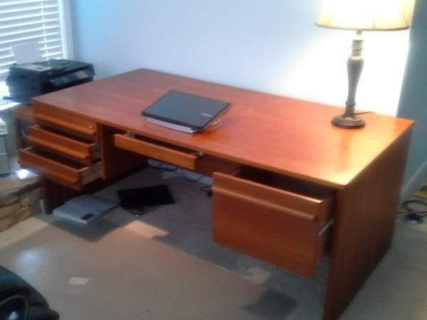 Value Of Vi Ma Mobler Danish Desk My Antique Furniture