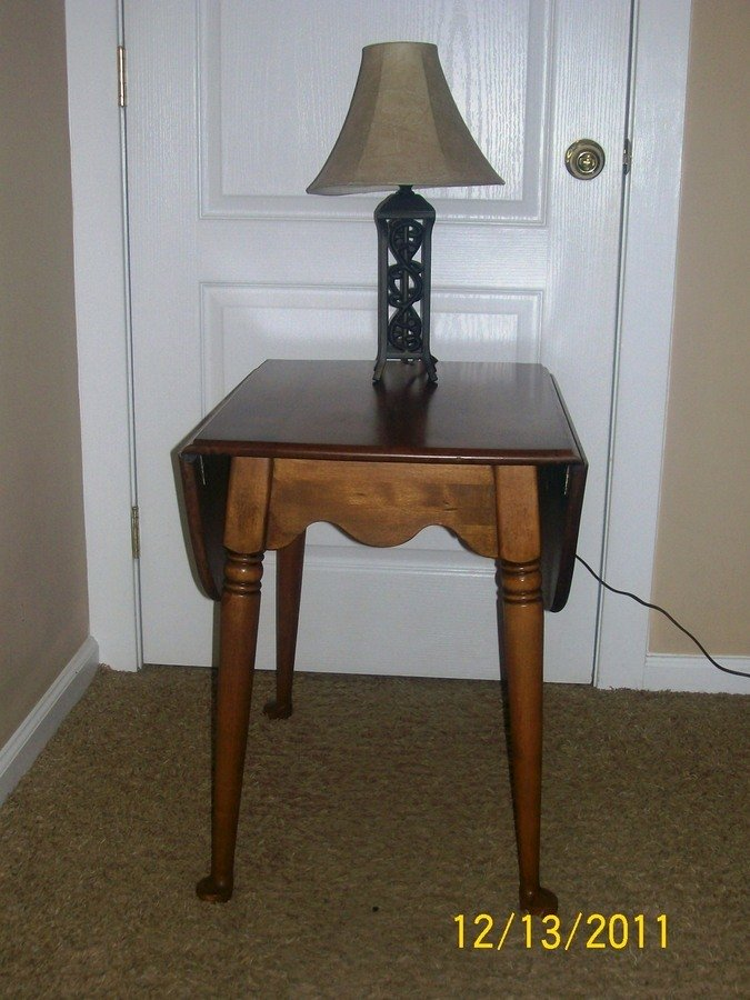 Info On Baumritter Drop Leaf Tables I Think End Tables