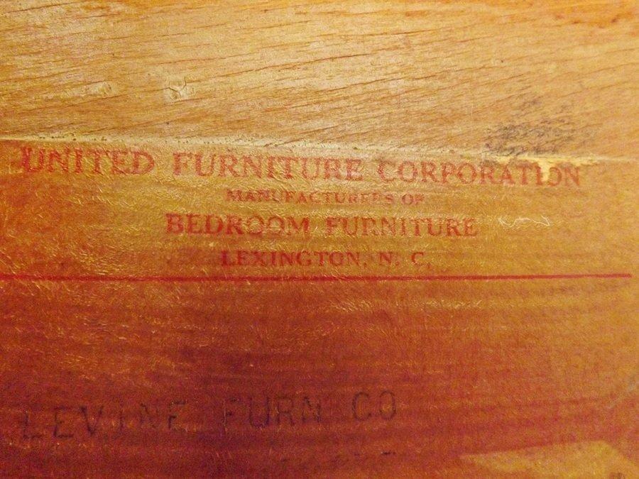 United Furniture Corporation Nc Depression Era Wardrobe