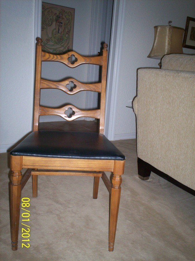 I Have 4 Oak Dining Chairs Made By The Liberty Chair Company , Liberty  Nort... Smiley 5 Years Ago