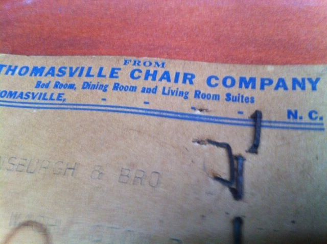 Thomasville Chair Co My Antique Furniture Collection